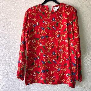 Vintage Neiman Marcus Silk Blouse